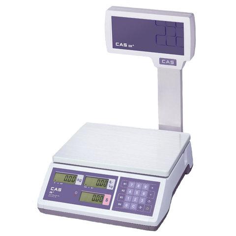 Весы торговые CAS ER JR-6CBU