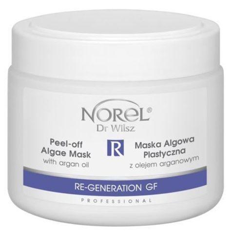 *Альгинатная маска с аргановым маслом (NOREL/Re-Generation GF-Peel-off/250мл/PN 221)