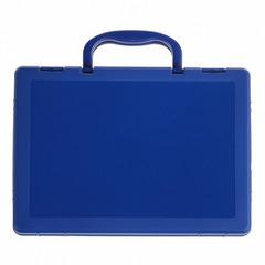 Портфель-кейс СТАММ КС11 пласт.синий