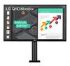 Quad HD IPS монитор LG  27 дюймов 27QN880-B