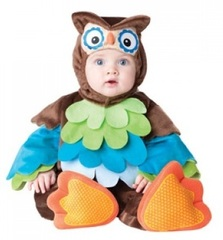 InCharacter Costumes Baby - Owls