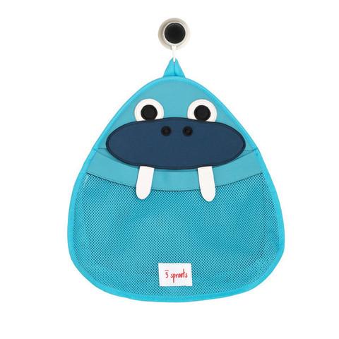 Органайзер для ванной 3 Sprouts Синий Морж (Walrus ITBWAL)