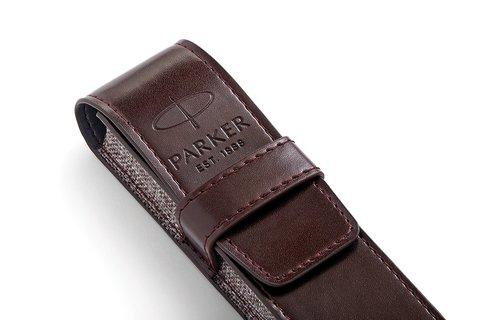 Набор с чехлом и Шариковая ручка Parker Sonnet , Lacquer Deep Black CT123