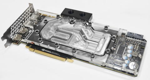 Видеокарта ASUS Geforce GTX 1080 Ti с водоблоком EKWB