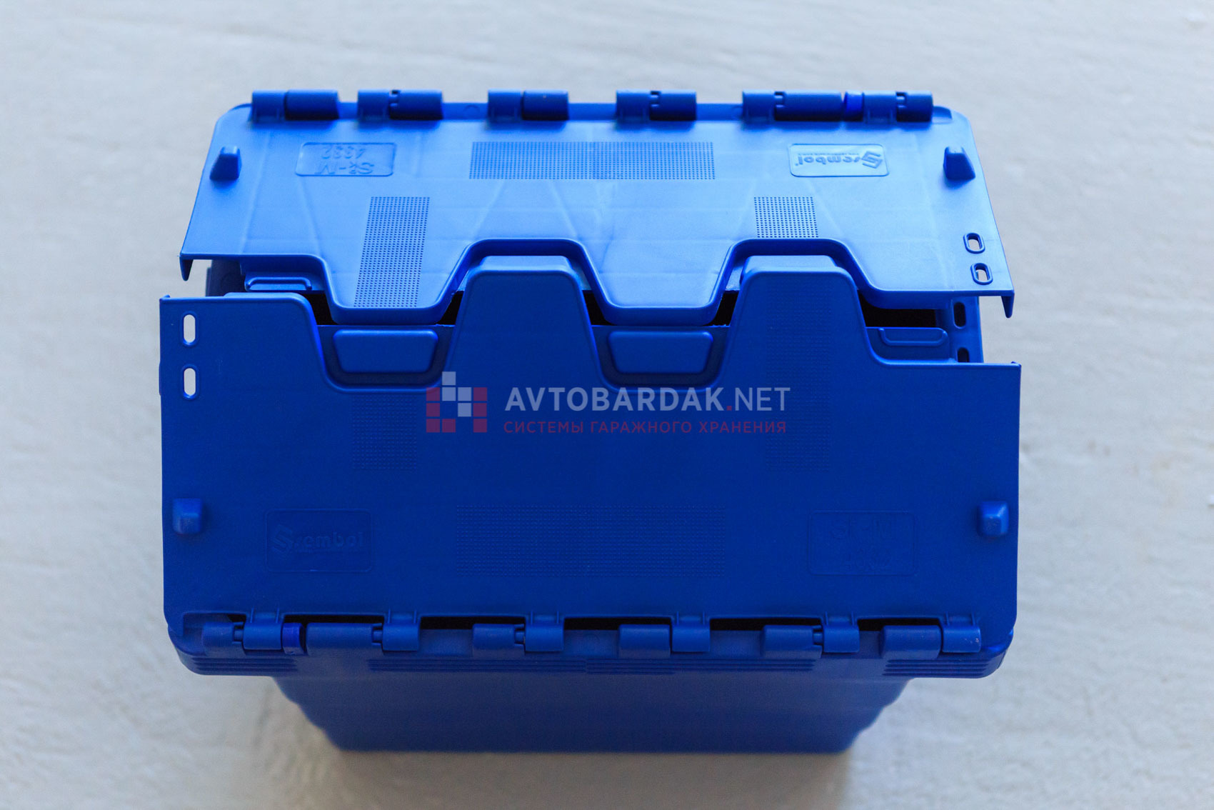 Контейнер с раскидной крышкой 400x300x320 мм