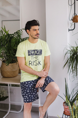 Мужские шорты пижамные E20K-11D101