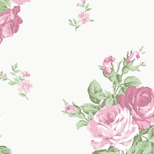Обои Aura English Florals G34315, интернет магазин Волео