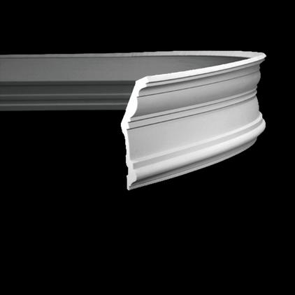 Гибкий карниз Европласт из полиуретана 1.50.132, интернет магазин Волео