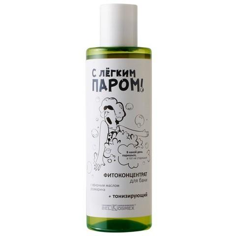 Фитоконцентрат для бани с эфирным маслом розмарина тонизирующий