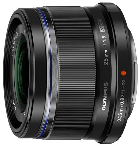 Olympus 25mm f/1.8 Black