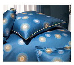 Наволочка 70x70 Elegante Cosmos синяя