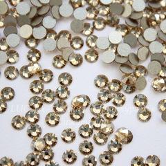 2088 Стразы Сваровски холодной фиксации Crystal Golden Shadow ss 12 (3,0-3,2 мм), 10 штук