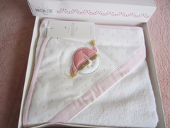 Полотенце-Конверт   BABY CLUB  розовый / Maison Dor (Турция)