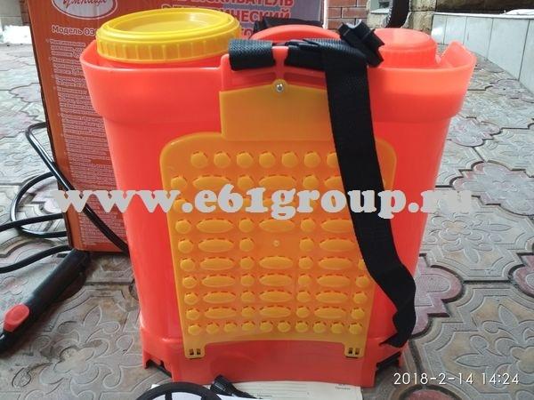 6 Опрыскиватель электрический ранцевый  Комфорт (Умница) ОЭМР-12 с регулятором мощности интернет магазин