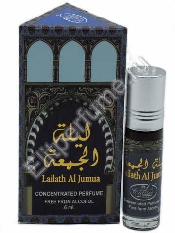 Lady Classic 6 мл Lailath al Jumua масляные духи из Арабских Эмиратов