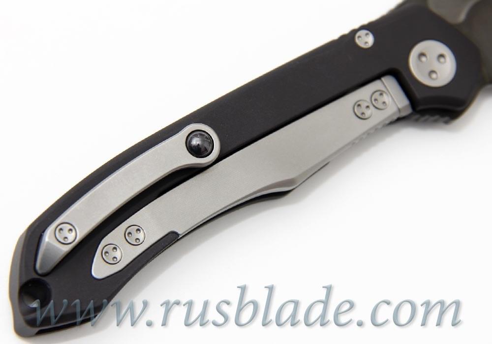 "Marfione Custom Anax Black Aluminum (3.75"" Satin DLC)"