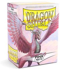 Dragon Shield - Розовые матовые протекторы 100 штук