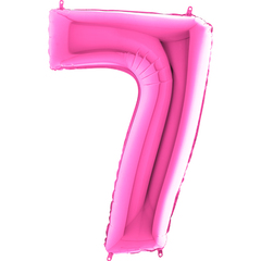 Цифра 7 (Фуксия)