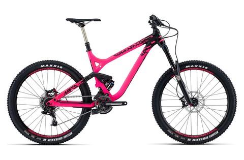 Commencal Meta SX Essential (2015) розовый с черным