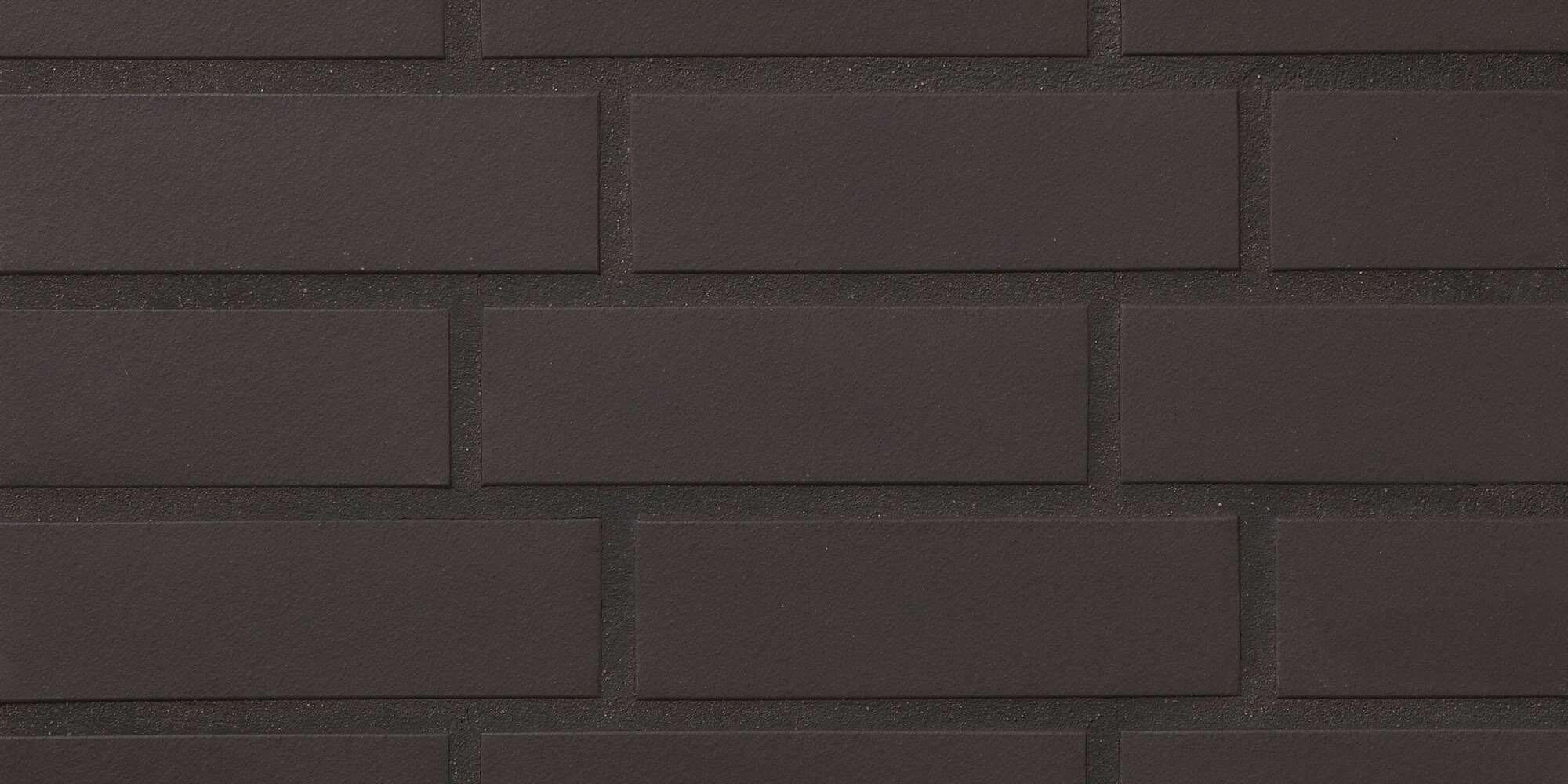 Stroeher, облицовочная клинкерная плитка, цвет 330 graphit, серия Keravette, unglasiert, неглазурованная, гладкая, 240x71x11