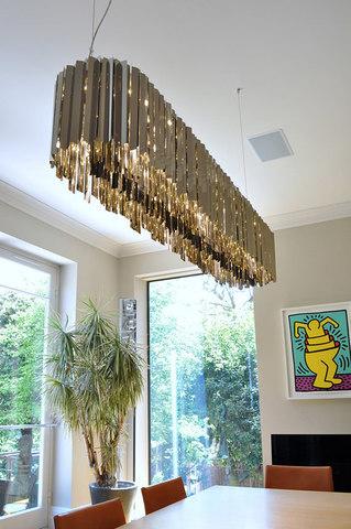 chandelier replica Facet by INNERMOST ( 100 * 28 см )
