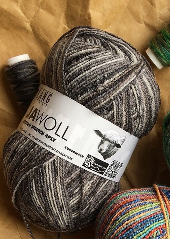 Jawoll Color Cotton Stretch 04