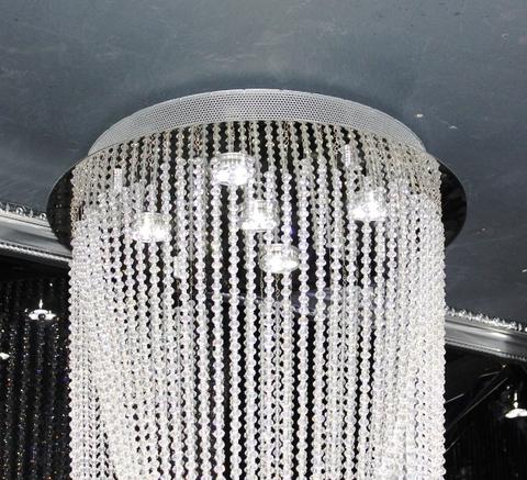 cristal  cascade chandelier  11-01  by Cristallino