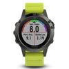 Беговые часы Garmin Fenix 5 с желтым ремешком