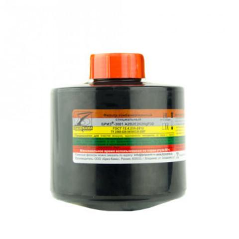 Патрон БРИЗ-КАМА Бриз-3001 марка А2В2Е2К2HgР3 орг неорг кис газ ртути аэроз