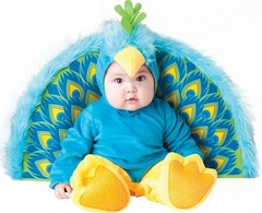 InCharacter Costumes Baby - Peacock