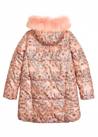 Pelican GZFL5031 пальто для девочек персиковый
