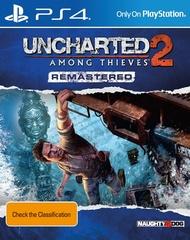 Sony PS4 Uncharted 2: Среди воров. Обновленная версия (русская версия)