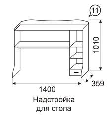 Надстройка для стола 11 Принцесса-2