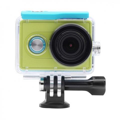 Аквабокс для Xiaomi Yi Action Camera (зелёный)