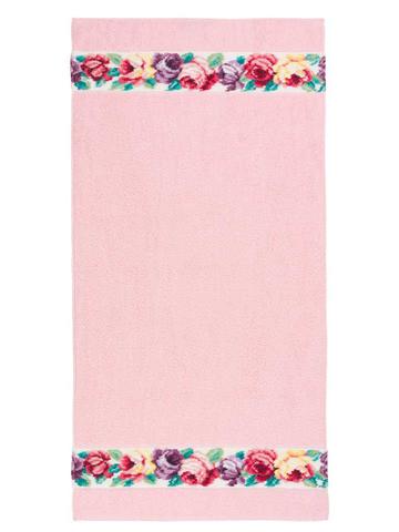 Полотенце 68x150 Feiler Sorrent weis розовое