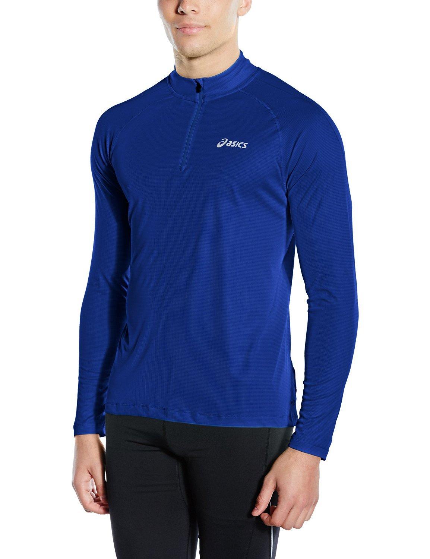 Мужская рубашка для бега  Asics Ls 1/2 Zip Top (110410 8107) фото