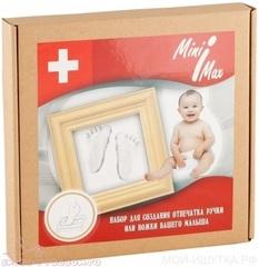 MiniMax. Набор для создания отпечатка ручки и ножки малыша