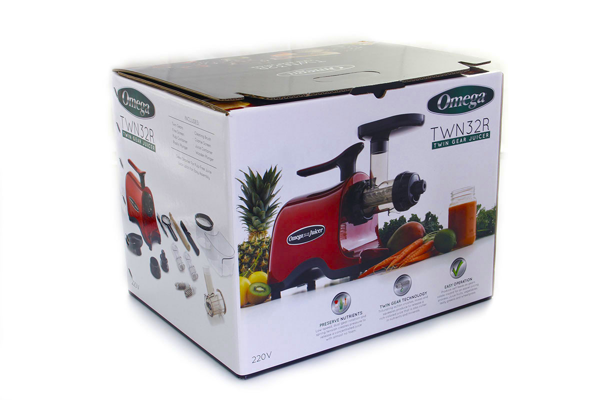 Соковыжималка Omega Twin Gear Juicer TWN32R