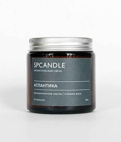 Свеча ароматическая в стекле Атлантика, SPCandle