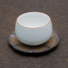 "Подставка под пиалу из керамики ""Цветок"", 10 см"
