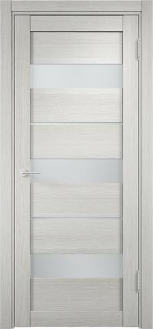 Дверь Eldorf Мюнхен 02, стекло Сатинато, цвет слоновая кость, остекленная