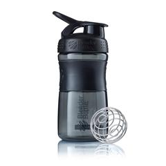 Бутылка-шейкер SportMixer Black/Black