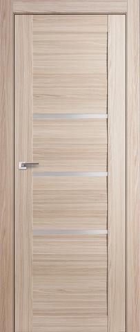 > Экошпон Profil Doors №18X-Модерн, стекло матовое, цвет капучино мелинга, остекленная