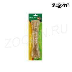 Triol лакомство для крупных и гигантских пород собак Кость из жил №10 длина 26 см, 1 штука