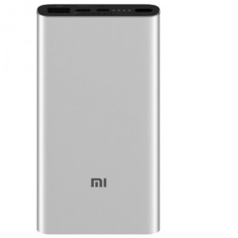 Аккумулятор Xiaomi Mi Power Bank 3 10000 (PLM12ZM) (серебристый)