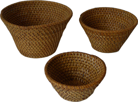 Набор ваз-лукошек