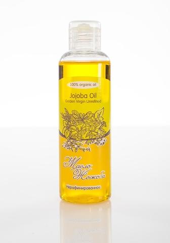 Масло ЖОЖОБА Jojoba Oil Golden Virgin Unrefined нерафинированное (голден), 100 ml