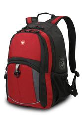 Рюкзак WENGER, цвет красный/черный/серый (3191201408)