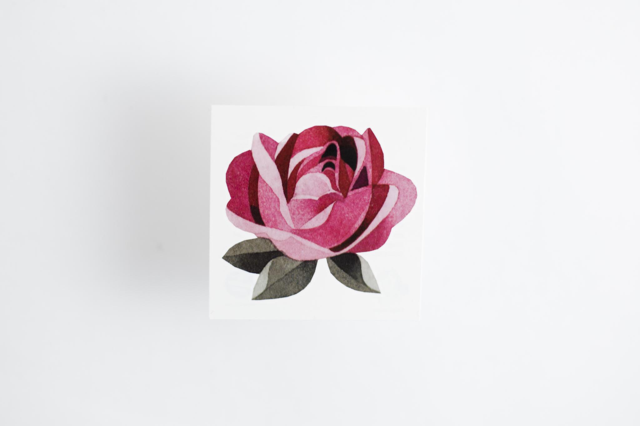 Переводная татуировка Kid's rose