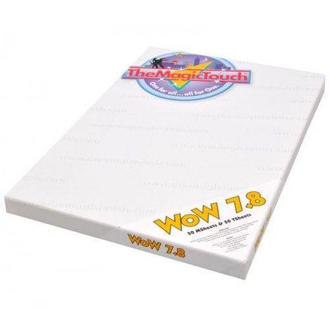 Трансферная бумага The  MagicTouch WoW 7.8 A4XL - для черного и цветного текстиля
